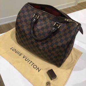 Louis Vuitton Speedy 30 Damien Ebene